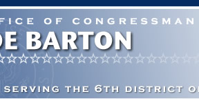 Joe Barton Congressman 6th District of Texas