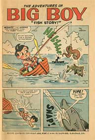 Bobs Big Boy Comic Book