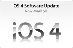 iOS 4 Software Update. Now Available.