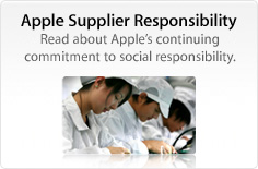 Apple Supplier Responsibility. Read about Apple's continuing commitment to social responsibility.