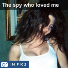 The spy who loved me: The photo album of suspected Russian spy Anna Chapman and her ex-husband Alex
