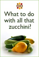 What to do with all that zucchini