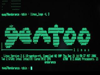 Apple IIe - linux_logo - Gentoo Logo