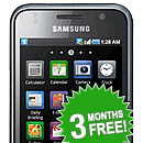 3 Months Free Galaxy S
