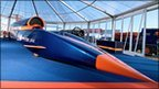 Full sized model of Bloodhound SSC (Nick Haselwood)