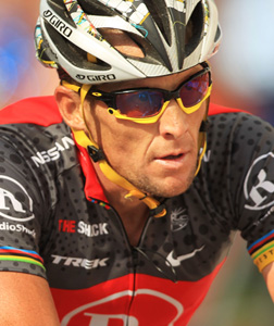 Lance Armstrong. Click imate to expand.