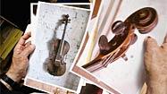 Tribe hopes melody will summon precious violin