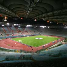 Rome's Stadio Olimpico will be packed for the 2009 final