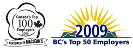 Canada's Top 100 Employers 2009
