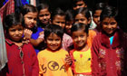 India street children. Photograph: Goal