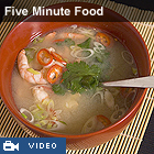 Watch Five Minute Food recipes