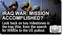 Iraq war: Mission accomplished?