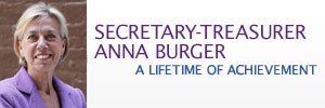 Secretary Treasurer Anna Burger: A Lifetime of Achievement