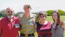Trooper Jason Thomas Brown and family