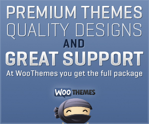 WooThemes - Quality Themes, Great Support