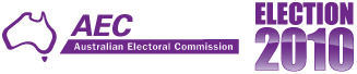 Australian Electoral Commission, 2010 federal election logo