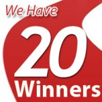 Our FB Comluv Blogging Contest 20 Winners
