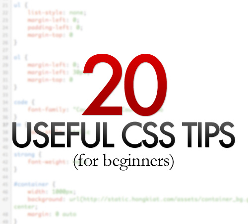 useful css for beginners