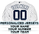 Personalized Jerseys