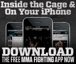 Get Inside the Cage with MMAFIGHTING.COM's iPhone app