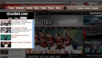 D.C. United browser theme for Firefox - v1 - May 2010