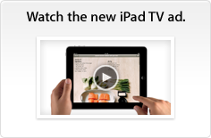 Watch the new iPad TV ad.