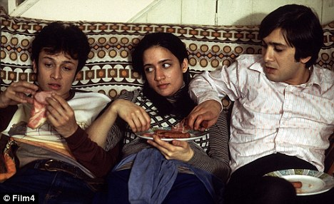 British film star: Panjabi in East Is East with Chris Bisson (left) and Jimi Mistry