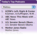 Top Podcasts Chart