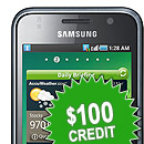 $100 Joining Credit Galaxy S
