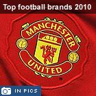 Top 10 football club brands 2010