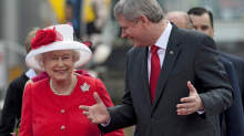 The Queen speaks with Prime Minister Stephen Harper as they arrive for Canada Day celebrations on Parliament Hill on July 1, 2010. - The Queen speaks with Prime Minister Stephen Harper as they arrive for Canada Day celebrations on Parliament Hill on July 1, 2010. | THE CANADIAN PRESS
