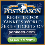 Register for Yankees World Series tickets