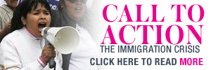 CALL TO ACTION - The Immigration Crisis. Only on latina.com. Click to read more.