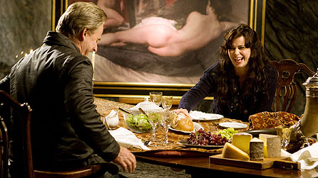 Trevor Eve and Eve Myles in Framed