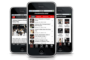 Check Out FanHouse's iPhone app.