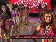 24oras:  Beauty contestant falls down onstage