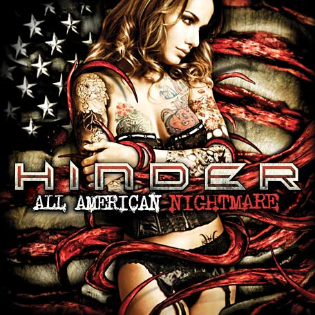 Hinder All American Nightmare cover