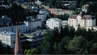 The town of Bad Gastein