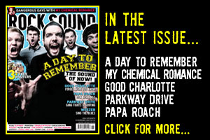 Rock Sound Magazine, Issue 141 - November 10 - A Day To Remember, My Chemical Romance, Parkway Drive, Good Charlotte, Papa Roach