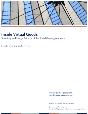Inside Virtual Goods: Spending and Usage Patterns of the Social Gaming Audience