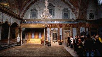 The Harem in Topkapi Palace