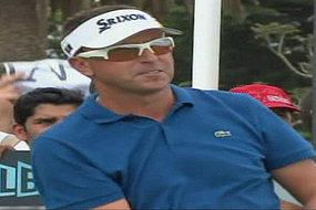 Masters fan struck by golf ball