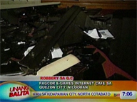 UB: Robbers strike inside PAGCOR e-games Internet cafe in QC