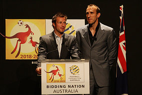 Schwarzer and Neill attend World Cup launch