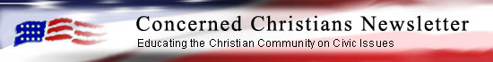 Newsletter from Concerned Christian Ministries