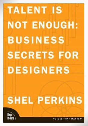 Talent is not enough by Shel Perkins - bookcover