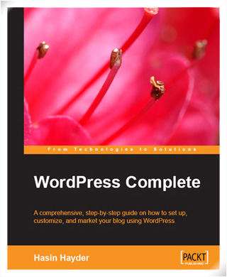 book cover  of WordPress Complete