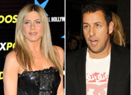 s ANISTON SANDLER large Adam Sandler & Jennifer Anistons Early Friendship