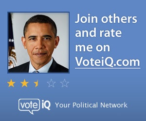Check out the President's public rating on VoteiQ.com, the nation's political social network. Join and submit your rating...it's free!