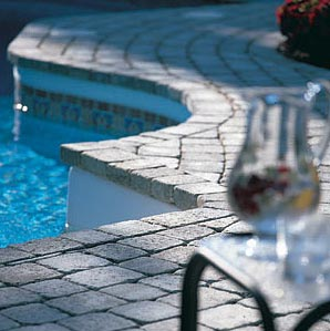 Stone Paver and Coping